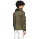 GmbH Khaki Sheer Windbreaker Jacket