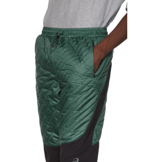 Kiko Kostadinov Green Asics Edition Insulated Lounge Pants