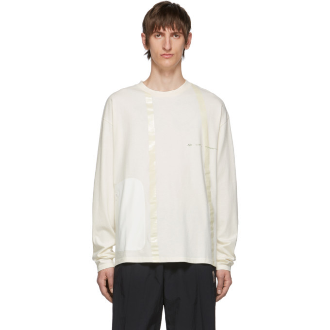 Photo: Oakley by Samuel Ross Off-White Logo Seam-Tape Long Sleeve T-Shirt