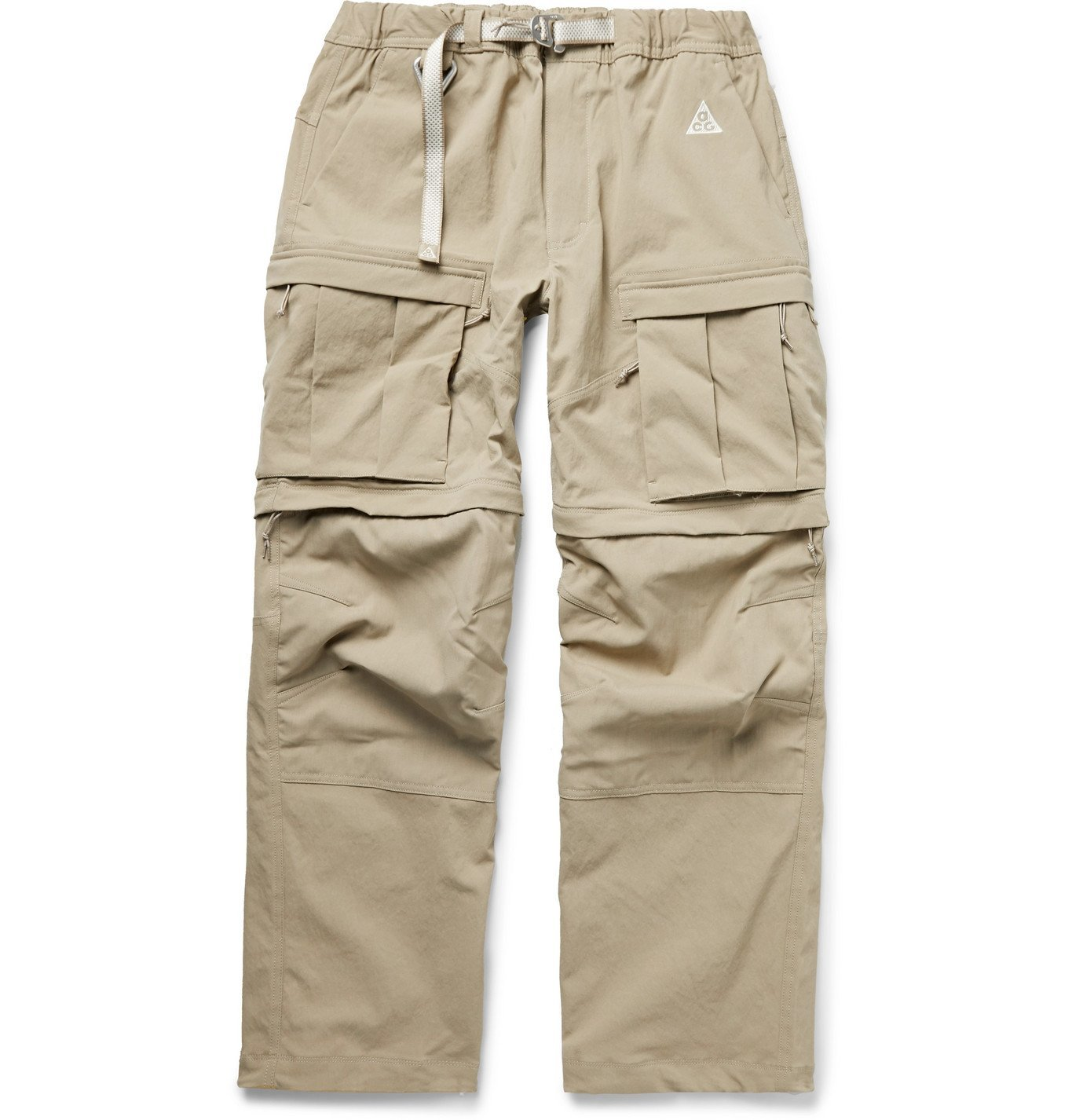 Photo: Nike - ACG Smith Summit Belted Nylon-Blend Cargo Trousers - Neutrals