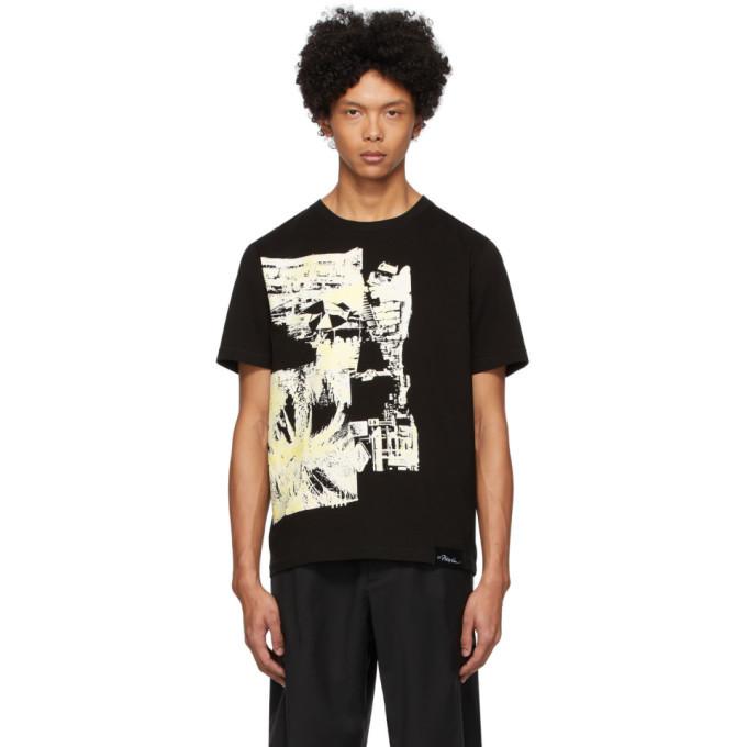Photo: 3.1 Phillip Lim Black Postcard Perfect T-Shirt