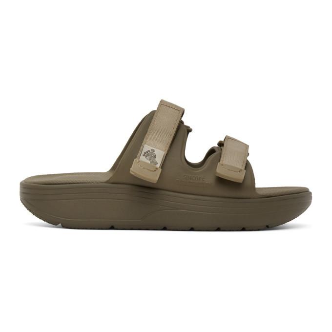 Photo: Suicoke Khaki Zona Sandals