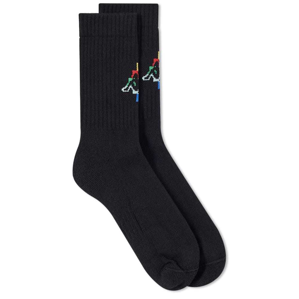 Photo: Marcelo Burlon x Kappa Multi Coloured Sock
