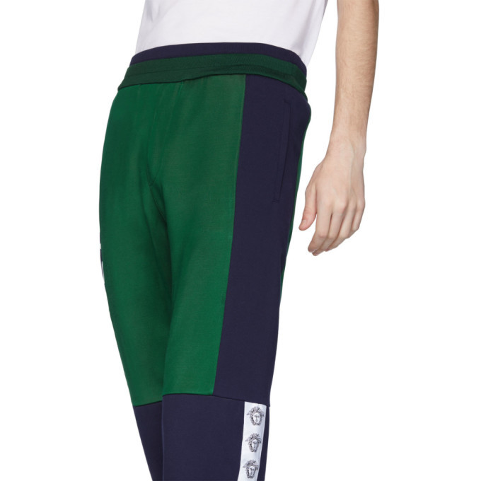 Versace Green and Navy Compilation Lounge Pants