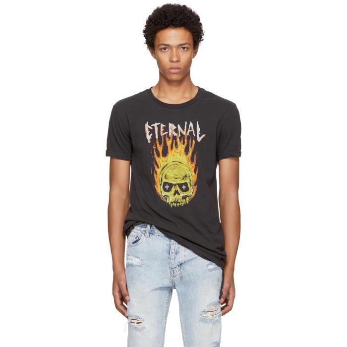 Ksubi Black Travis Scott Edition Hothead T-Shirt
