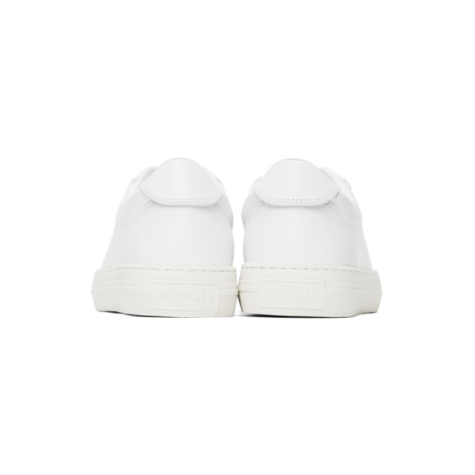 Moncler White Alodie Sneakers