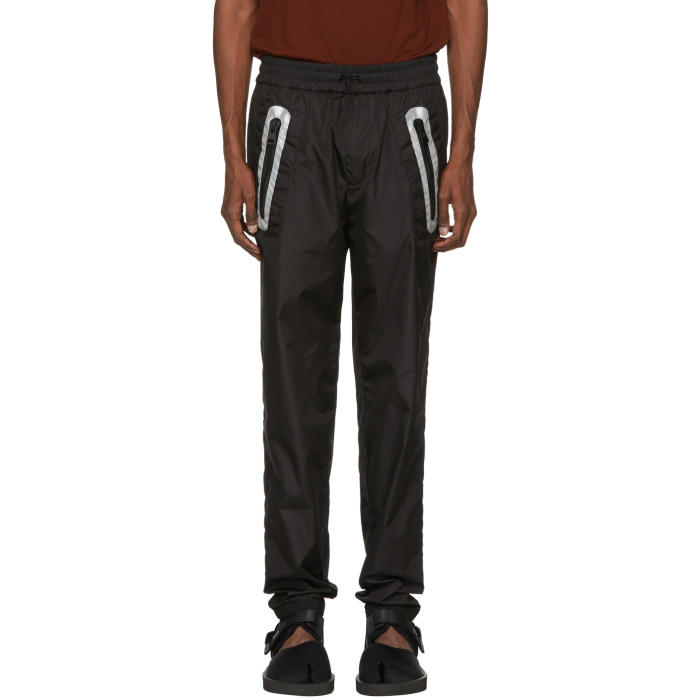 Photo: Moncler C Black Cuffed Lounge Pants