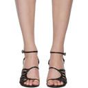 3.1 Phillip Lim Black Strappy Lily Sandals