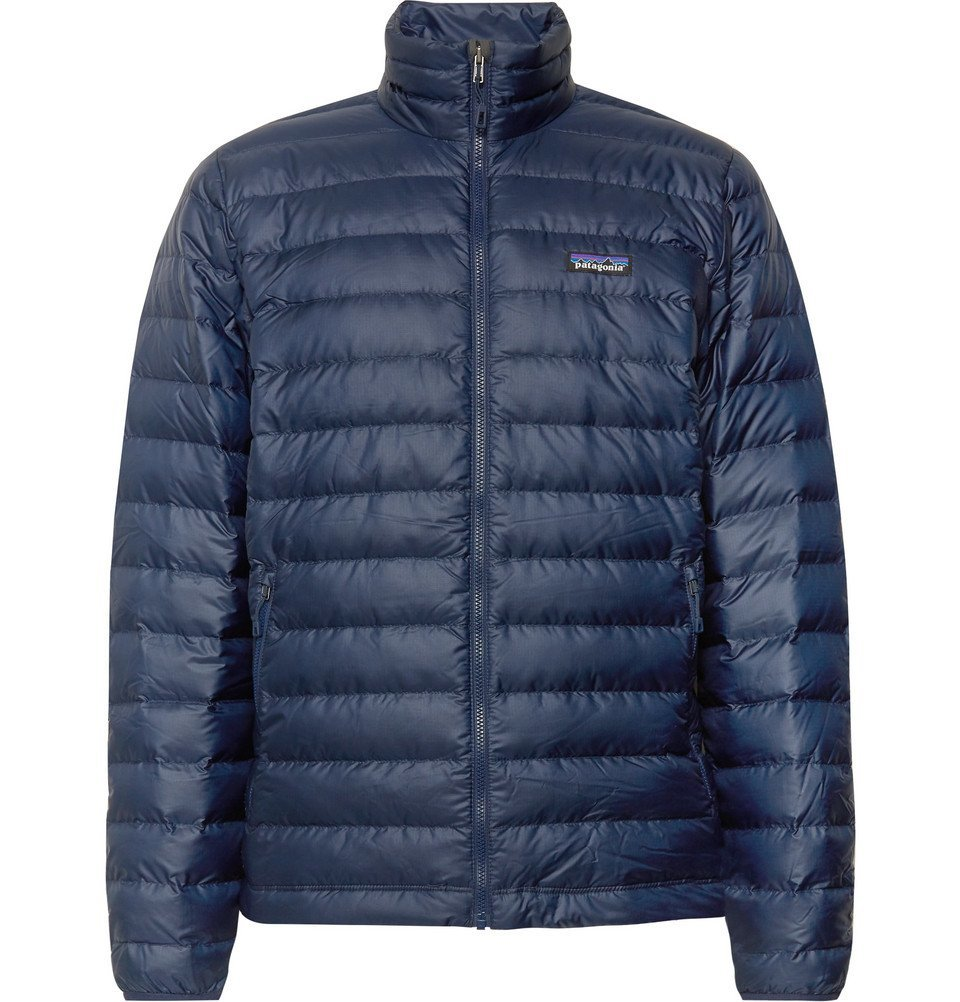 Photo: Patagonia - Quilted Ripstop Down Jacket - Men - Navy