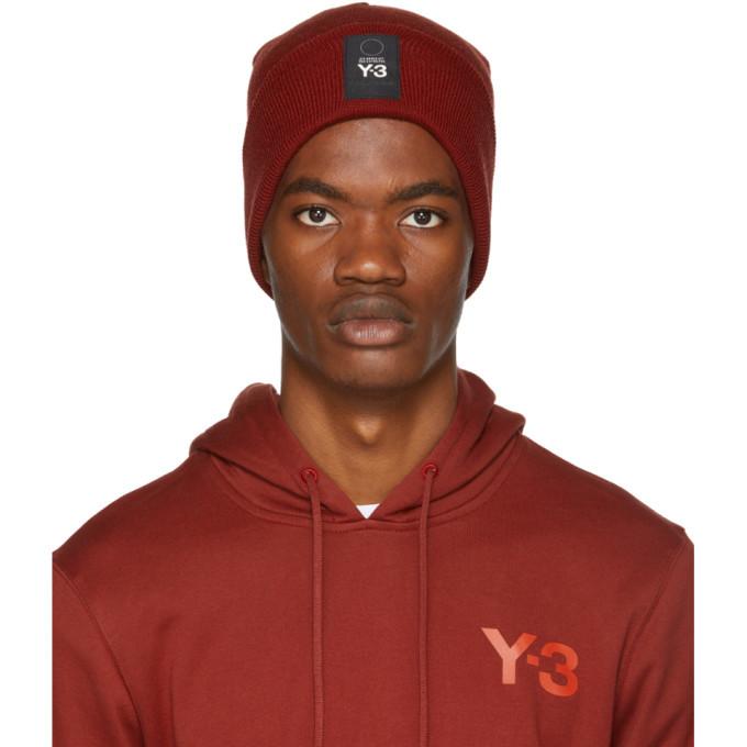 Photo: Y-3 Red Logo Beanie
