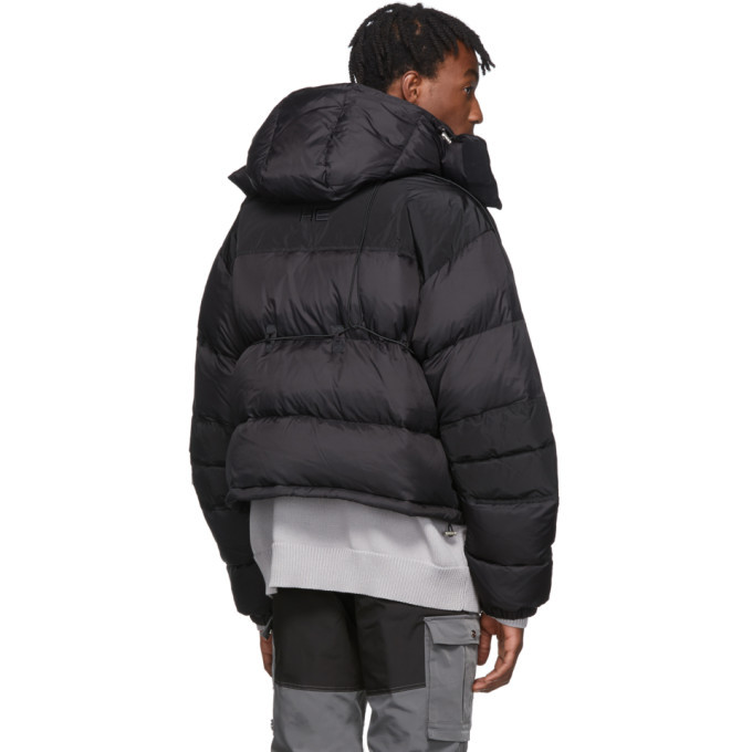 Heliot Emil Black Down Jacket
