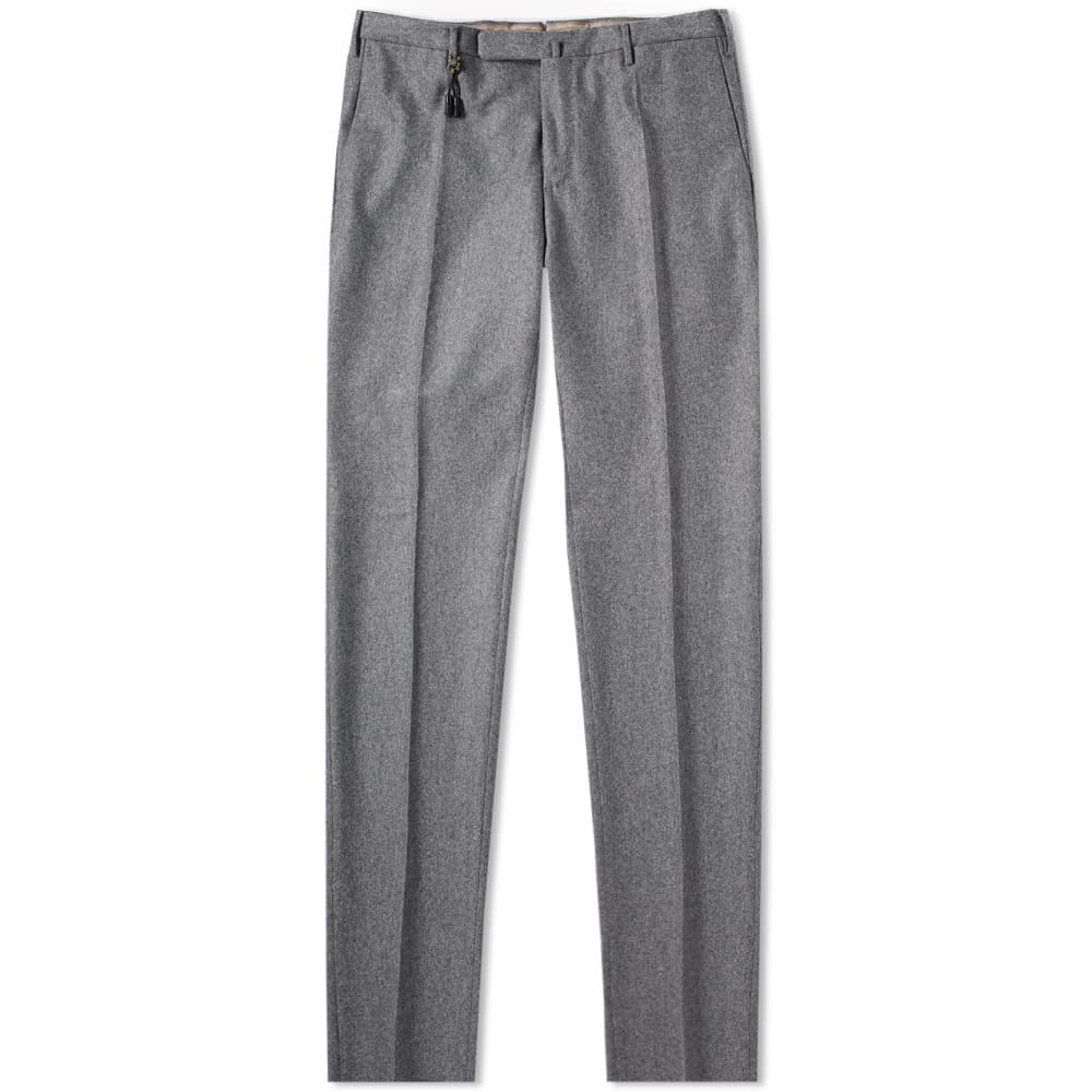 Photo: Incotex Slim Fit Wool Flannel Trouser Grey