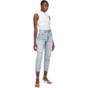 Ksubi Blue Ripped Pointer Jeans