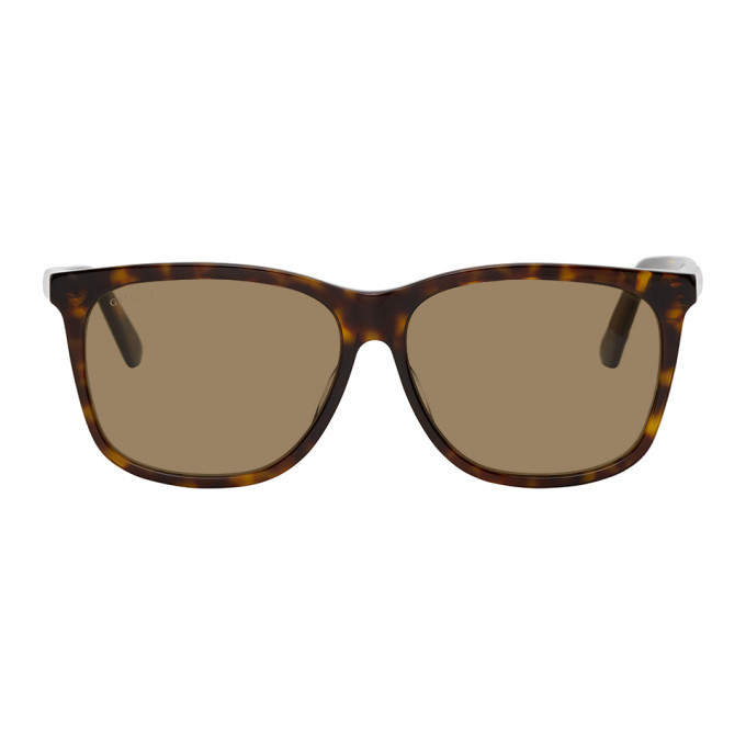 Photo: Gucci Tortoiseshell Square Sunglasses