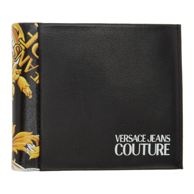 Photo: Versace Jeans Couture Black Barocco Bifold Wallet