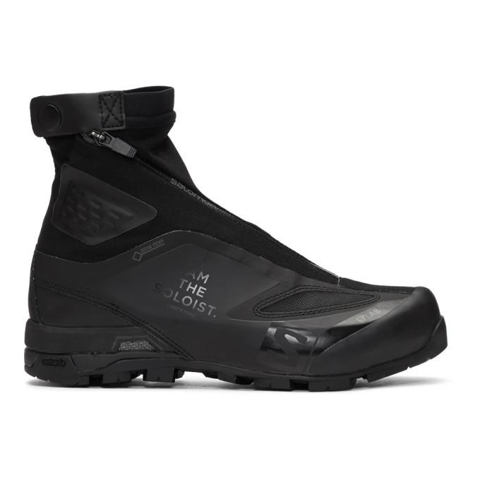 Photo: TAKAHIROMIYASHITA TheSoloist. Black Salomon S/Lab Edition X-Alp Carbon 2 Sneakers
