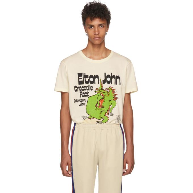 Photo: Gucci Off-White Elton John Crocodile Rock T-Shirt