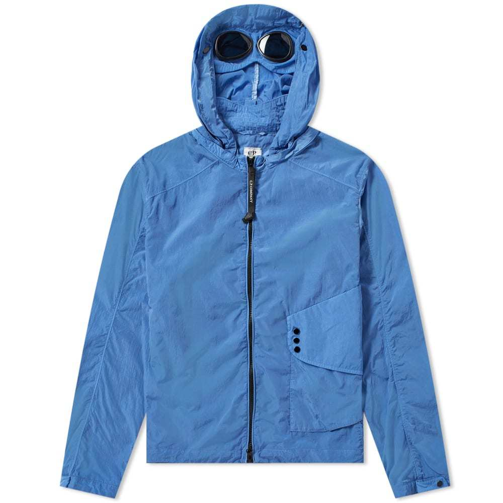 Photo: C.P. Company Chrome Goggle Hooded Shirt Jacket