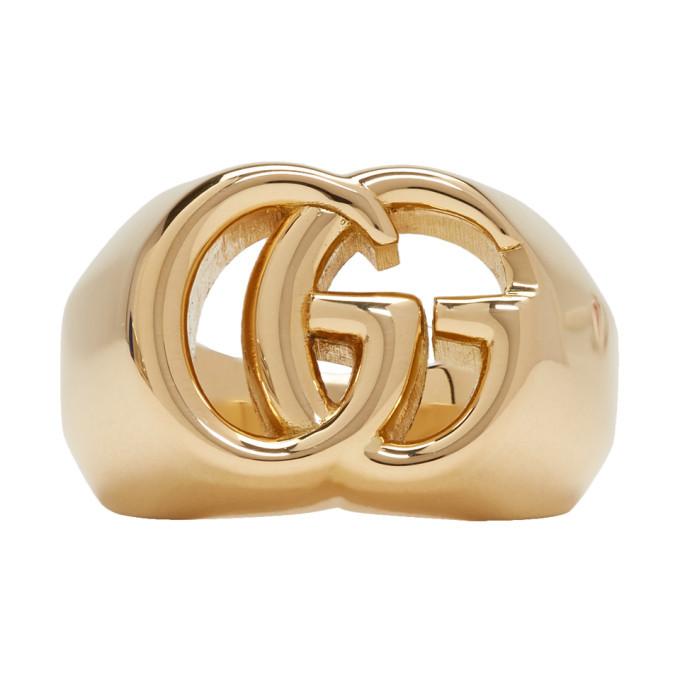 Photo: Gucci Gold GG Running Ring