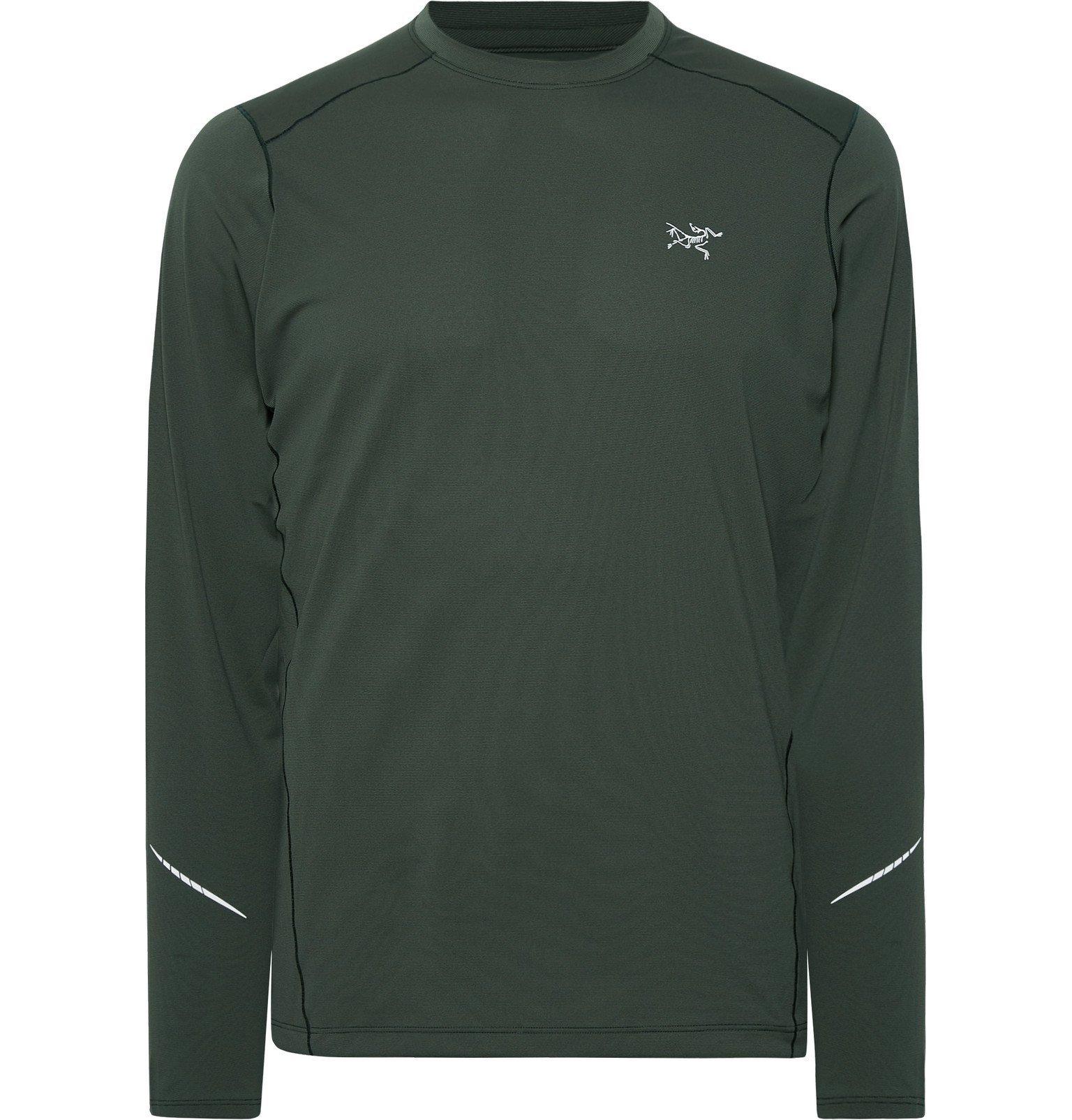 Photo: Arc'teryx - Motus Phasic FL T-Shirt - Green