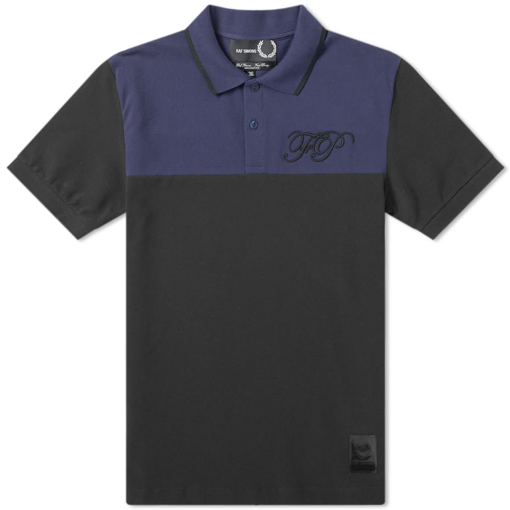 Raf Simons x Fred Perry Embroidered Initial Pique Polo