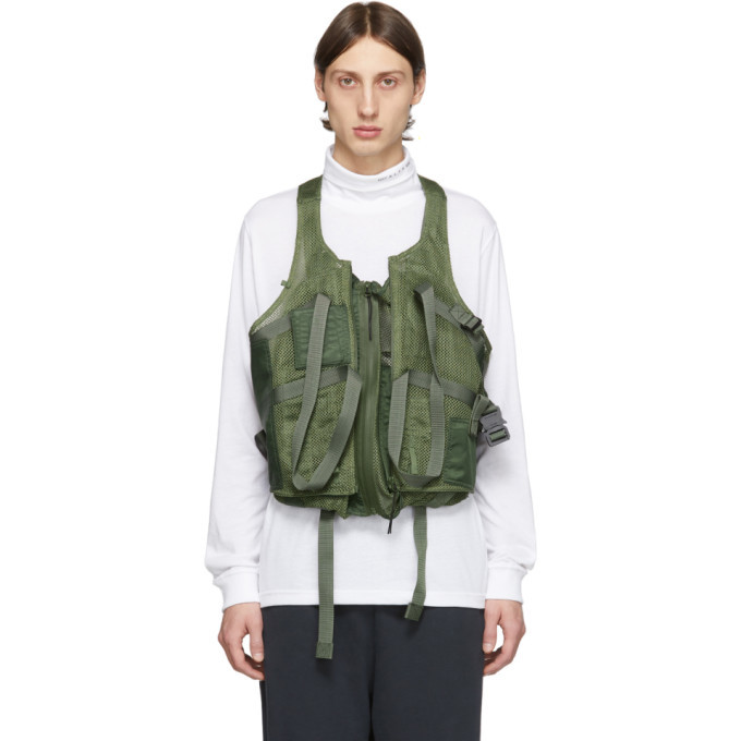Photo: 1017 ALYX 9SM Green Tactical Vest