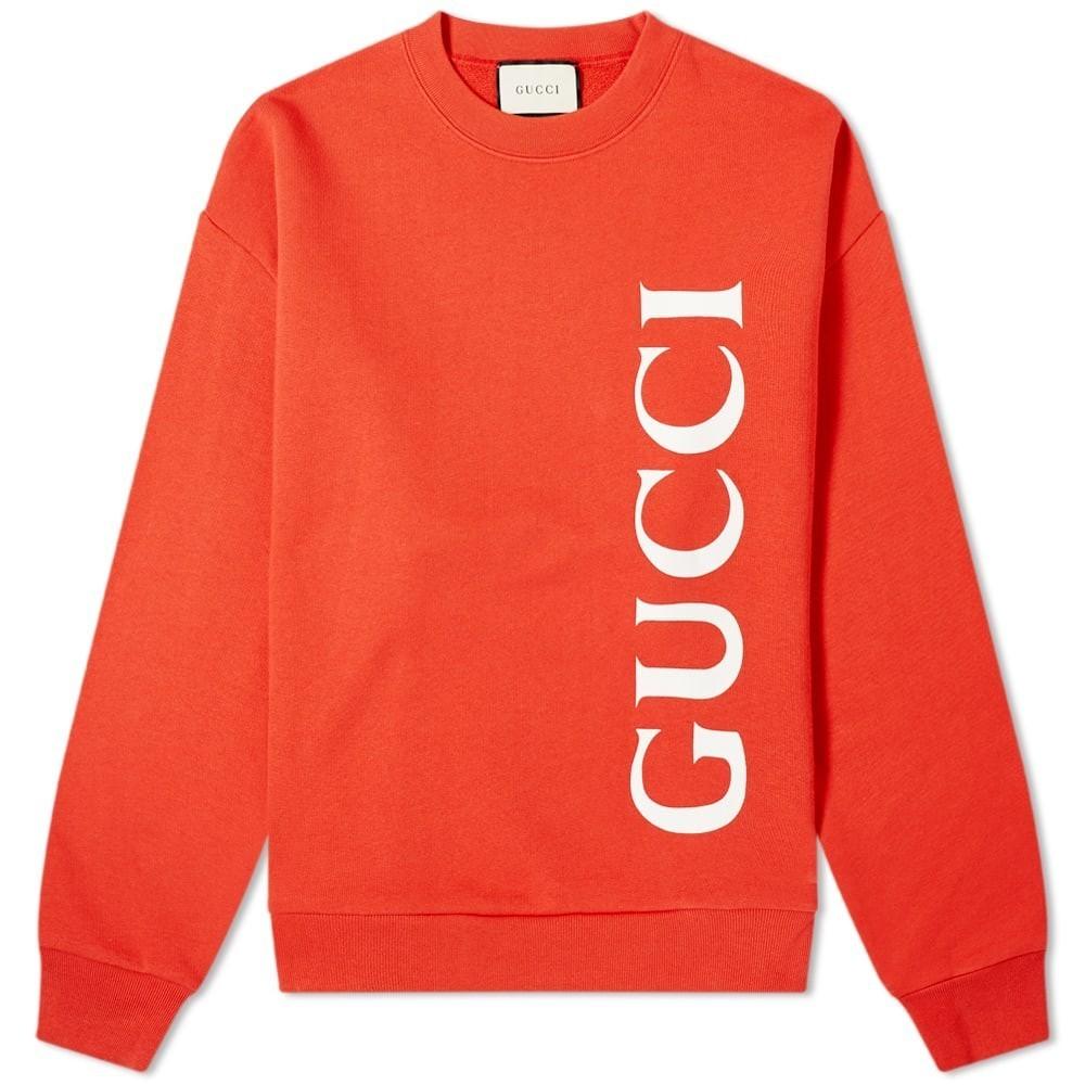 Photo: Gucci Large Gucci Logo Crew Sweat