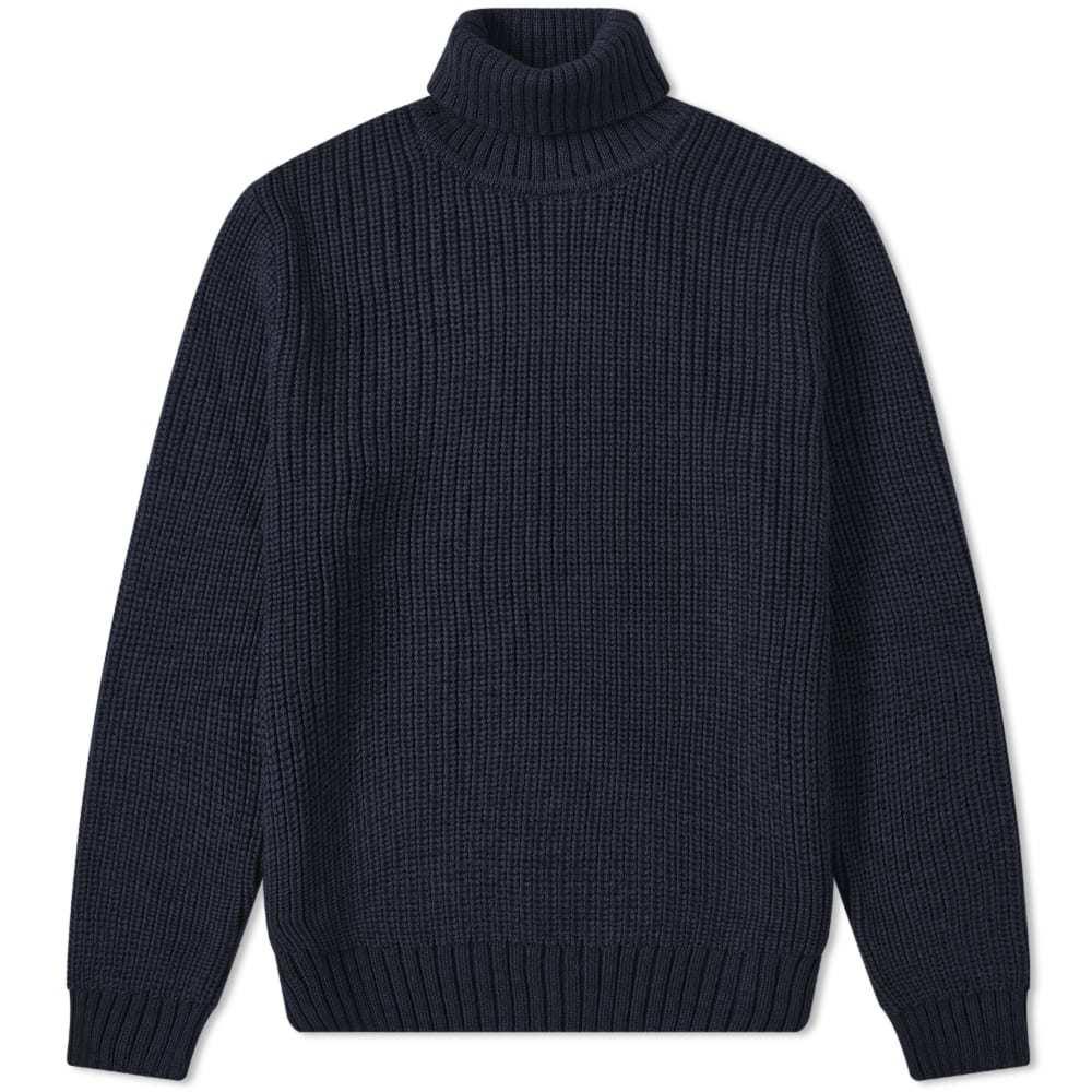 Edwin Line Roll Neck Knit
