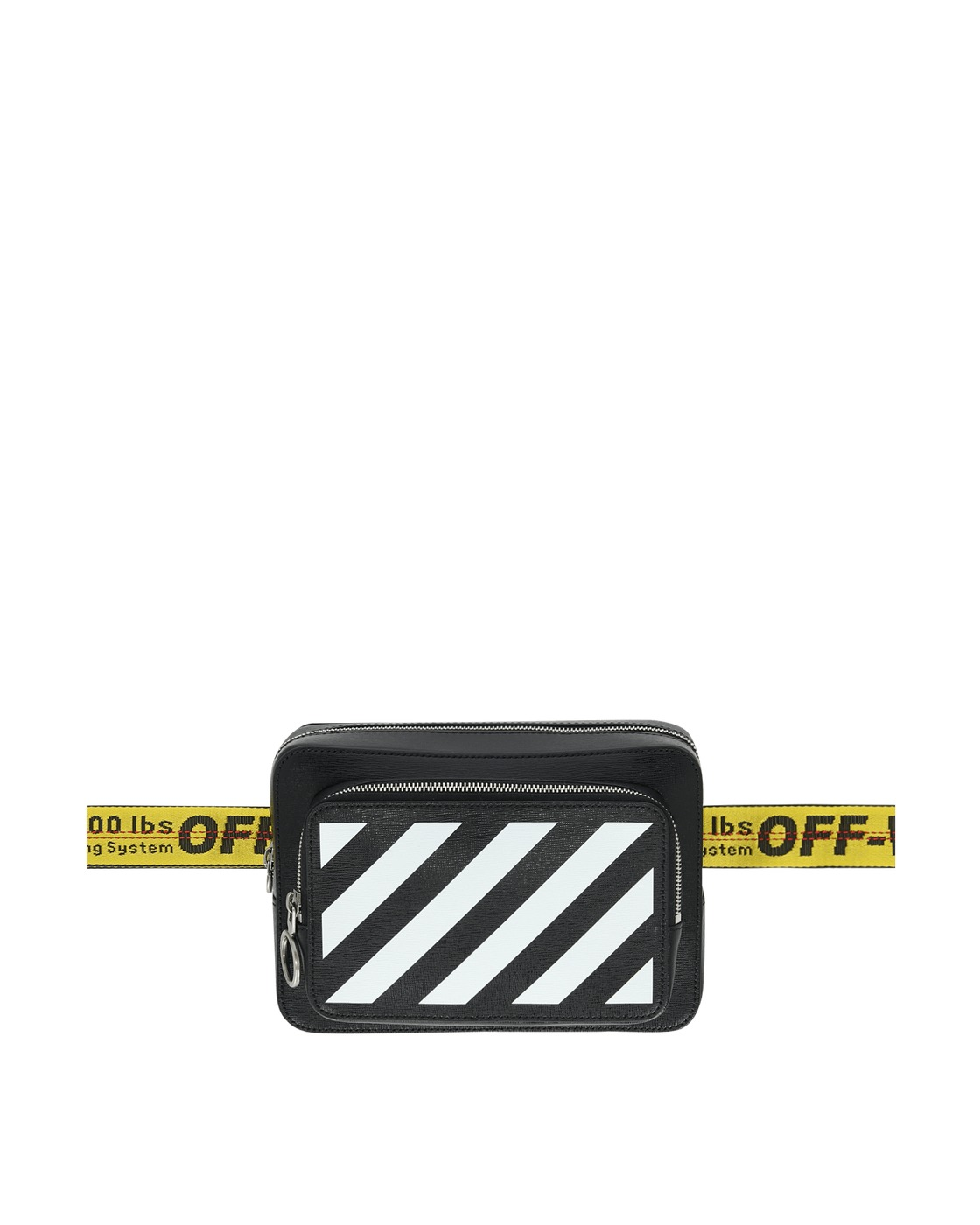 Photo: Off White Diag Belt Bag Black/White