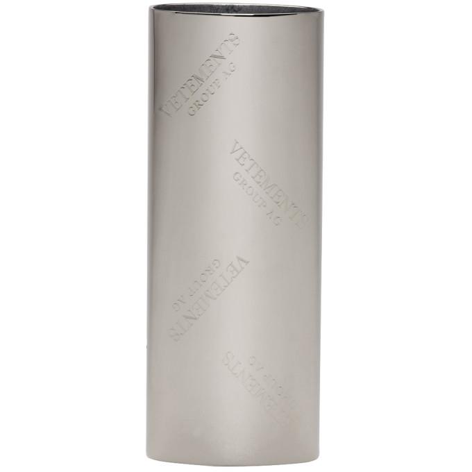 Photo: Vetements Silver Monogram Lighter Case