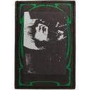 Raf Simons Black Small Photo Print Card Holder