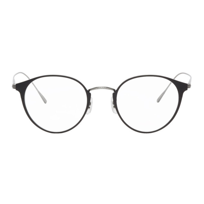 Oliver Peoples Black Otteson Glasses