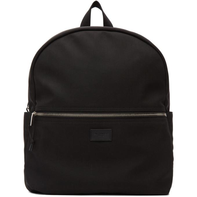 Photo: Saint Laurent Black Canvas Nuxx Backpack