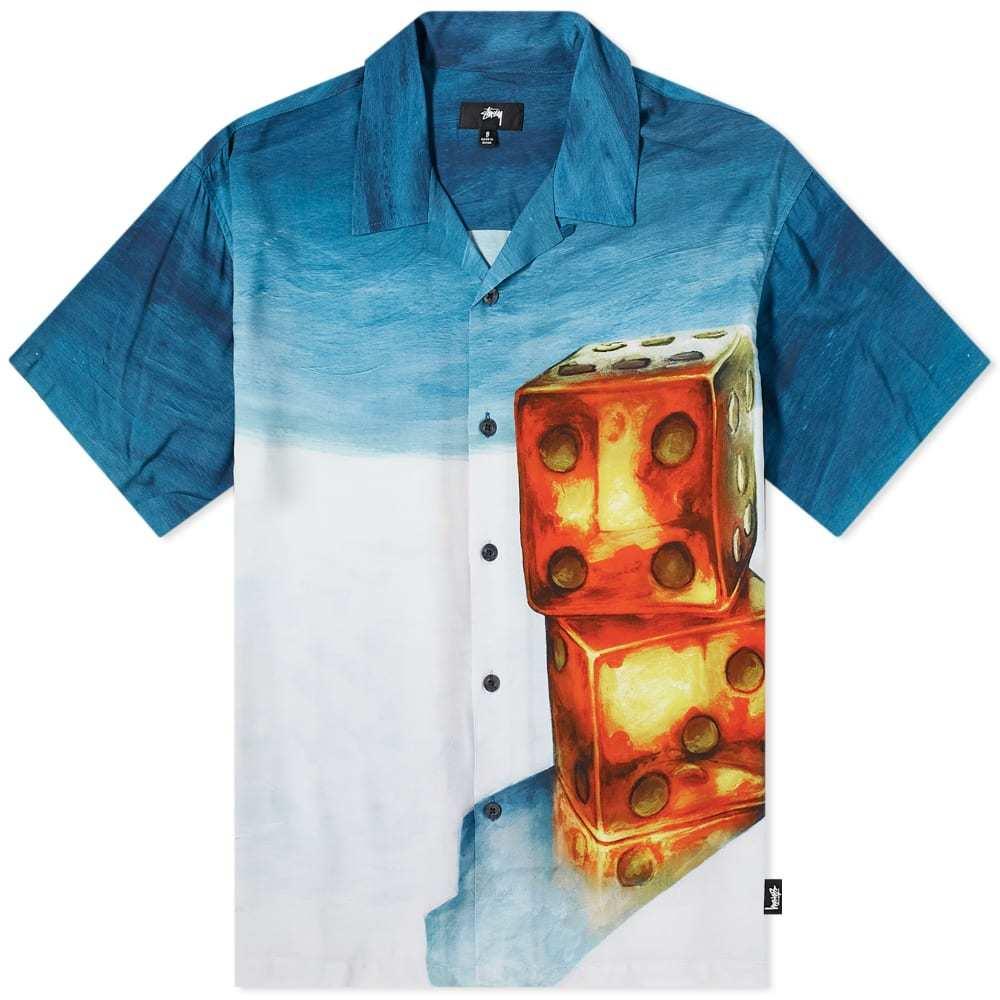 Photo: Stussy Dice Painting Shirt