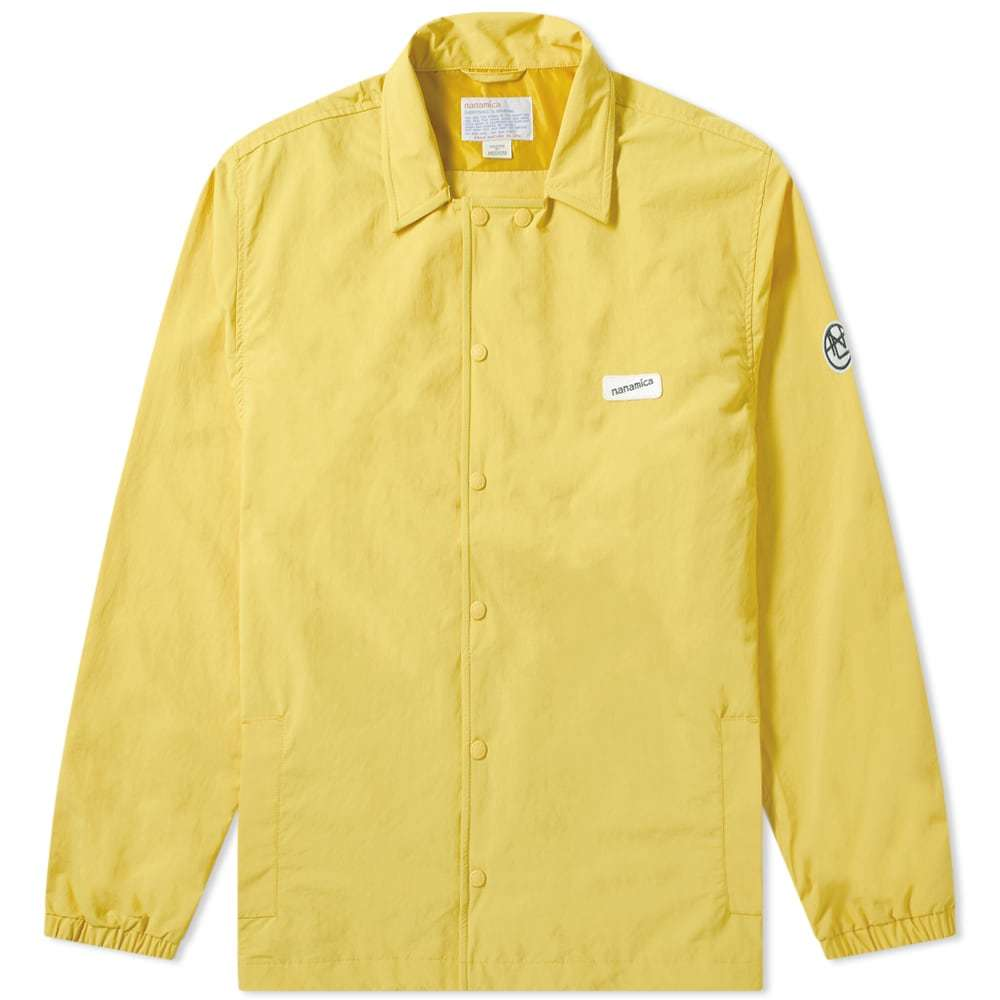 Photo: Nanamica Coach Jacket