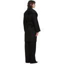 Max Mara Black Cashmere Galles Coat