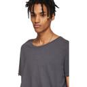 Ksubi Grey Lunar Seeing Lines T-Shirt