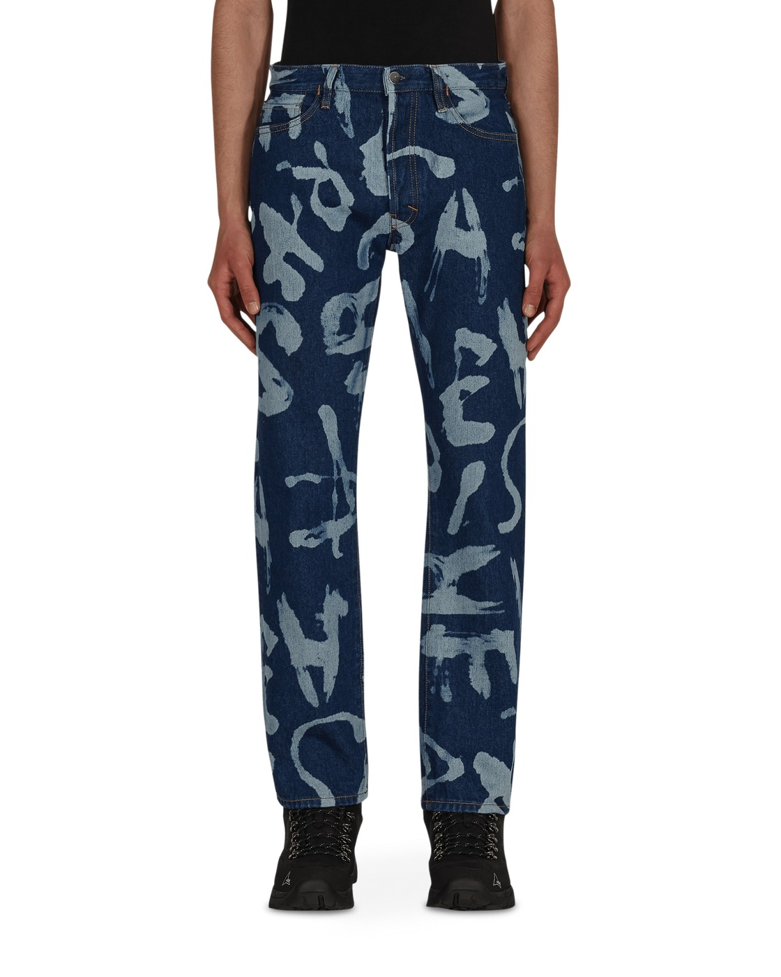 Aries Alphabetti Lilly Jeans Blue