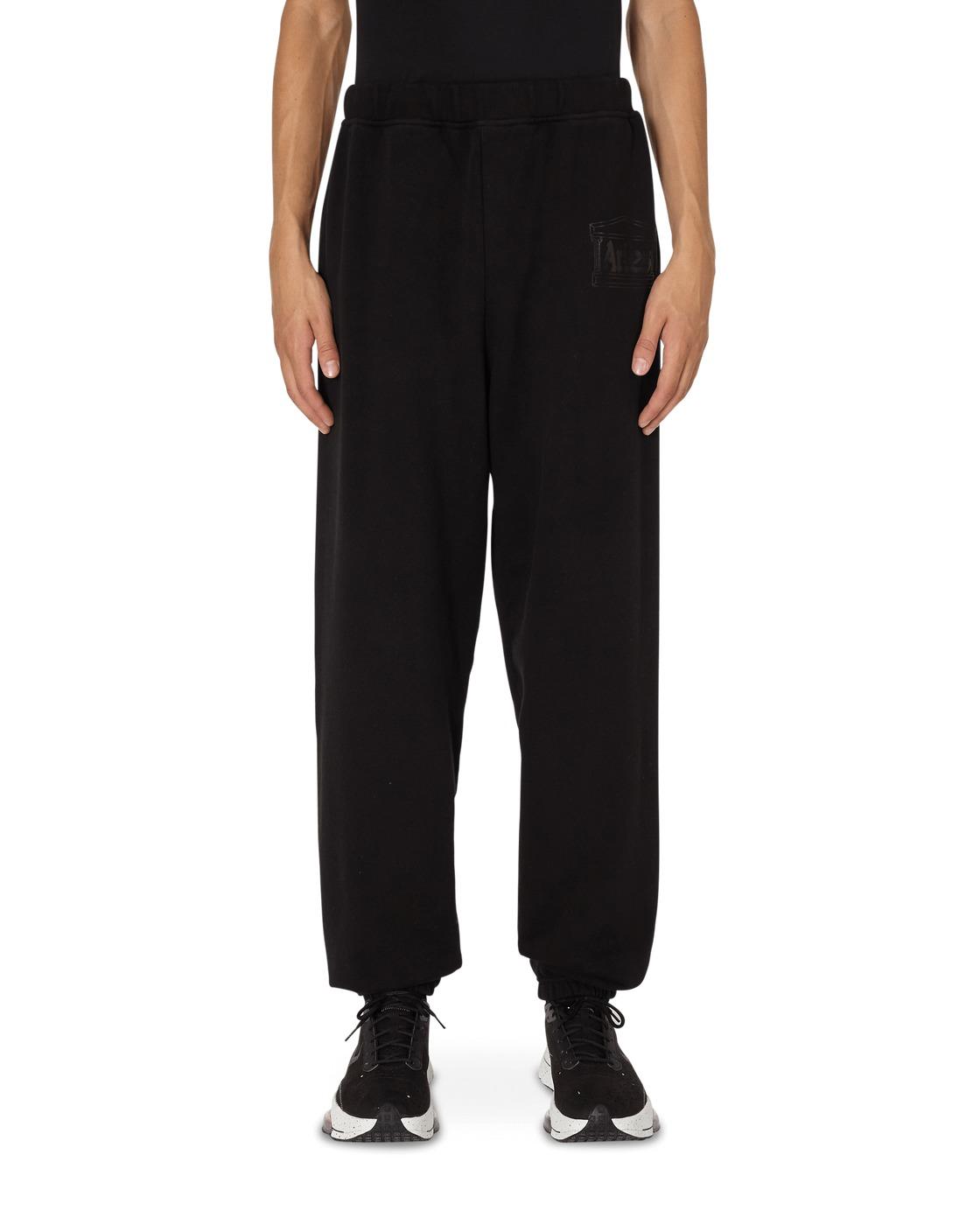 Aries Logo Premium Sweatpants Black