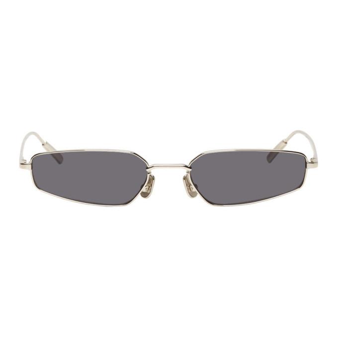 Photo: Ambush Silver and Black Astra Sunglasses