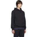C.P. Company Black Diagonal Fleece Hoodie