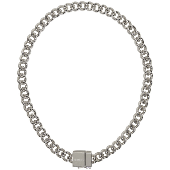 Photo: Vetements Silver USB Necklace