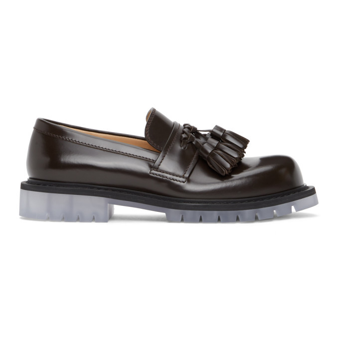 Photo: Bottega Veneta Brown Tassle Loafers
