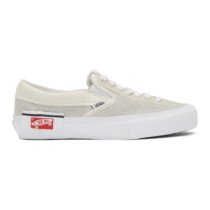 Photo: Vans Beige Cap LX Slip-On Sneakers