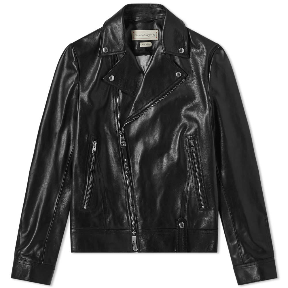 Photo: Alexander McQueen Leather Biker Jacket