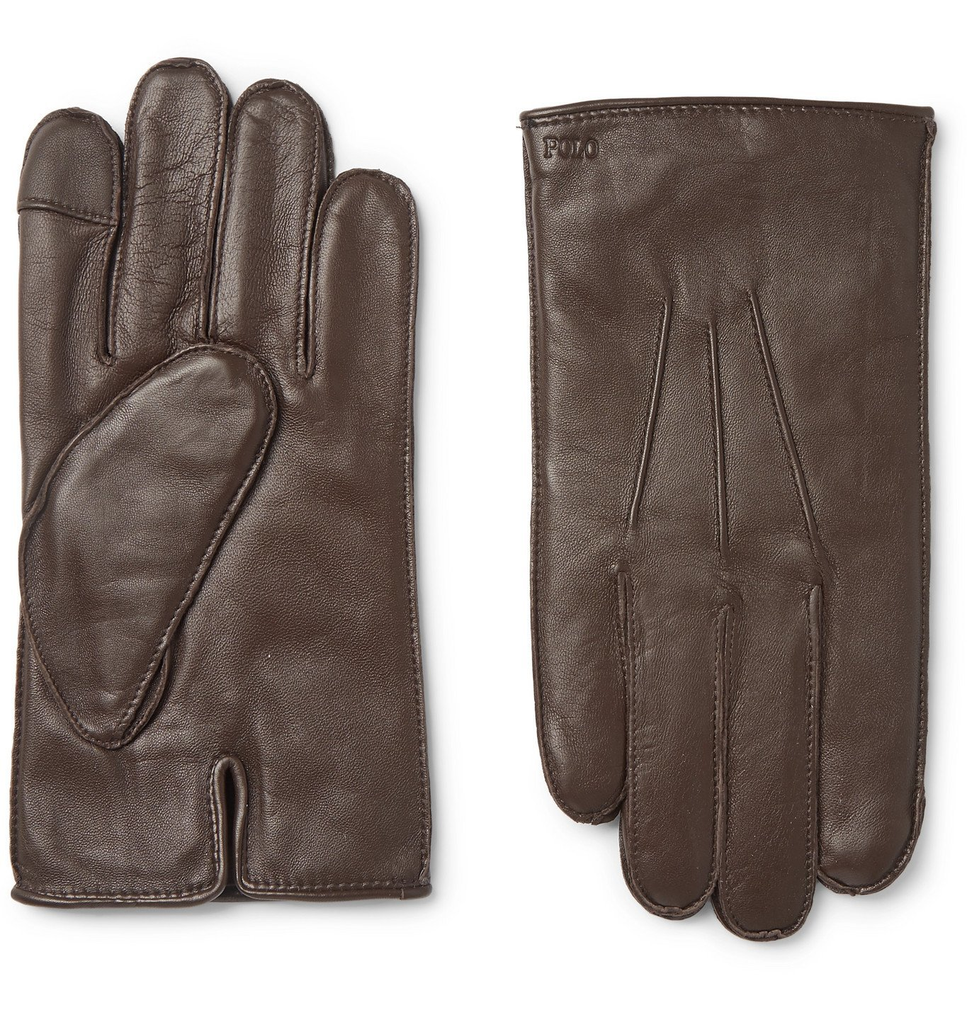 Photo: Polo Ralph Lauren - Leather Gloves - Brown