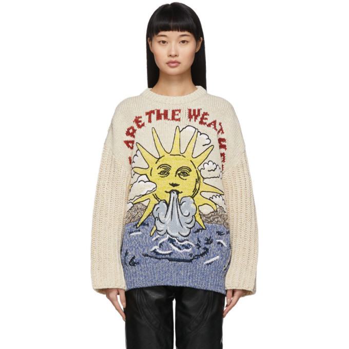 Photo: Stella McCartney Off-White We Are The Weather Sweater