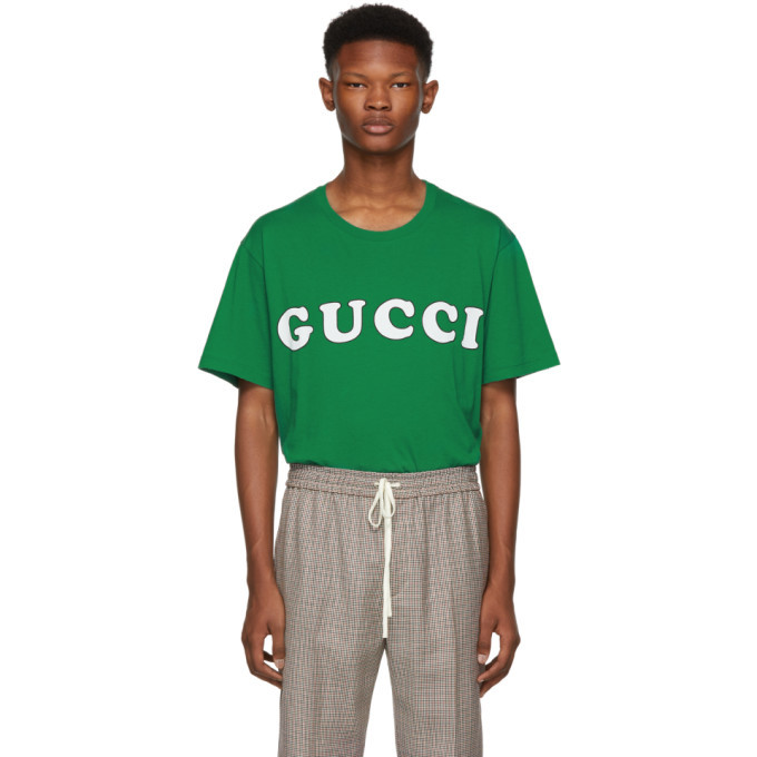 Photo: Gucci Green Logo T-Shirt