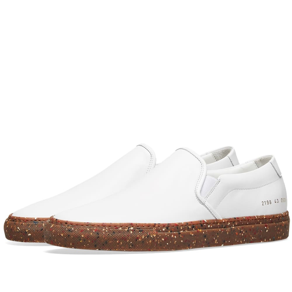Photo: Common Projects Slip On Camo Sole