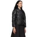 3.1 Phillip Lim Black Nylon Utility Kimono Jacket
